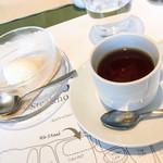37 QUALITY MEATS - 平日限定ワンプレートランチ:デザートとコーヒー