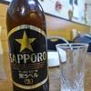 タカノ食堂   - ドリンク写真:ビールは黒ラベル
