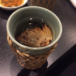 つけしゃぶ 翔 - ヒレ酒!