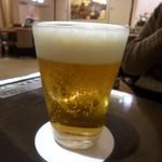 三嶋亭 - 夫はまずビール!