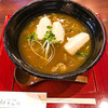 てん川 - 料理写真:揚げ餅カレーうどん