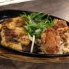 益正 - 料理写真:肉定食[鶏の唐揚げと白身魚のマスタード焼](842円)