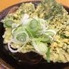 野むら - 料理写真:そば(300円)春菊(100円)きつね(70円)