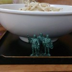 蓮華 - 料理写真:味噌ラーメン650円 側面