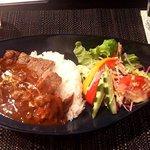 Steak and STAUB YOKOHAMA - ステーキ&ハヤシライス(150g)