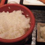 京ばし松輪 - 京ばし松輪のアジフライ定食