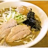 中村屋総本山 - 料理写真:濃厚煮干そば+味玉 750+100円 濃縮された煮干味に加えて甘味もあるのが実にイイ感じ♪