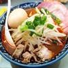 昭和 - 料理写真:辛みそラーメン+煮玉子