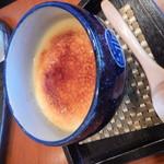 cafe Mizukinosho - 味噌プリン期間限定卵で!