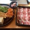どん亭 - 料理写真:豚ロースしゃぶしゃぶ 大盛1069円