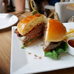 Tommy Bahama Restaurant, Bar & Store - *Smokehouse Bacon Burger $19.50*