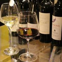 8種類以上の日替わりグラスワイン