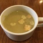 ラ・プルミエプゥッス - 野菜のスープ