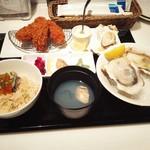 ガンボ&オイスターバー - 牡蠣がたくさん