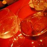 サハラ - 食前酒 モロッコの地酒(強力!) そしてザクロのリキュールです
