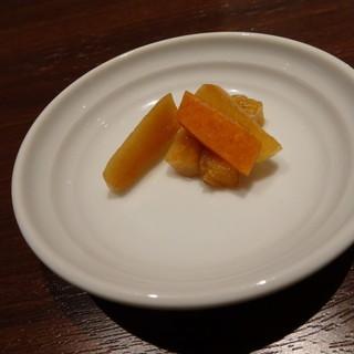 中華ダイニング 王冠 - 料理写真:ランチ 香の物