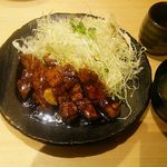 豚屋とん一 - とんテキ定食890円(税別)