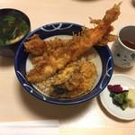 天富 - 海老天丼