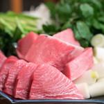 山さき - 2017.2 葱鮪鍋