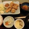 日本海庄や - 料理写真:唐揚げ定食 800円