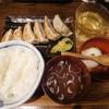 肉汁餃子製作所 ダンダダン酒場 - 料理写真:餃子ライス¥680-