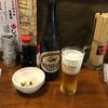 屋台や十八番 - 料理写真:大瓶ビール550円