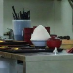 とんかつ 麻釉 - 他のお客さんから「××をご飯山盛りで」と聞こえてきて、聞き間違えたかと思いましたが、山盛りです。(笑)