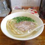 麺屋 菜々兵衛 - 鶏白湯塩ラーメン(750円)