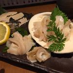 魚と酒 はなたれ - 長崎小浜産のみる貝