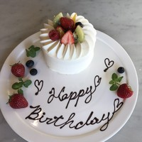 特製バースデーケーキ