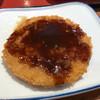 高崎矢中食堂 - 料理写真:ハムカツ。