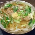 三国一 - 関西風 肉うどん     ¥880