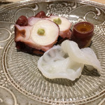 鮨処 有馬 - 柳蛸