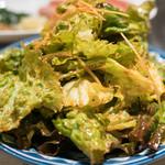たん清 - 2017.2 グリーンサラダ(450円)