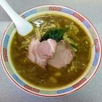 味の大王 - カレーラーメン(750円)