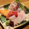どちらいか - 料理写真:鮮魚刺身の盛り合わせ