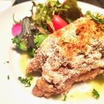 vélo  - 料理写真:豚足のパン粉焼き