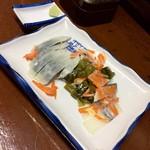 銚子屋 - 料理写真:しめさば