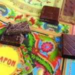 シャポン - ショコラタブレット(酸味系)三種