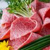 かね竹 - 料理写真:三宮店の焼きしゃぶ、神戸牛のリブロースをおろしポン酢であっさりとお試し下さい。