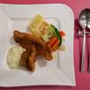 レストラン クレール - 料理写真:Aランチ(1730円)白身魚のフライ