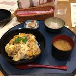 レストラン そら - 比内地鶏の親子丼定食