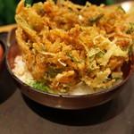 沼津 魚がし鮨 - 桜海老かき揚げ丼