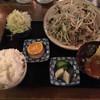 ふう - 料理写真:肉にら炒め定食