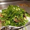 長田タンク筋 - 料理写真:まずアゴスジ