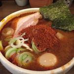麺処 井の庄 - 辛辛魚味玉ラーメン980円