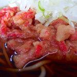 おくちゃん - 紅生姜そば(380円)