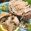 天一 - 料理写真:巨大鮑さま 海の風味が広がりまするー!