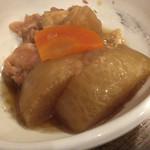 ときわ食堂 - 鶏と大根の煮物 250円