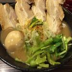 志奈そば 田なか - 金曜限定!重濃鯵ニボそば(細麺)800円+チャーシュー300円